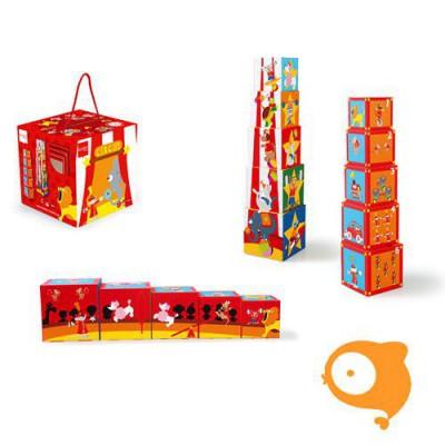 Scratch - Preschool: stapeltoren circus