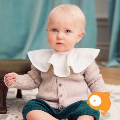 Elodie Details - Zeverslabje kraagje vanilla white
