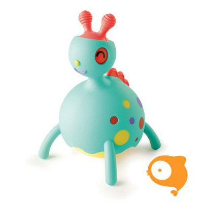 Fat Brain Toys - Rollobie Baby Toy blauw