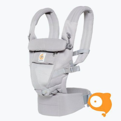 Ergobaby - Babydraagzak 3 posities adapt cool air mesh - pearl grey