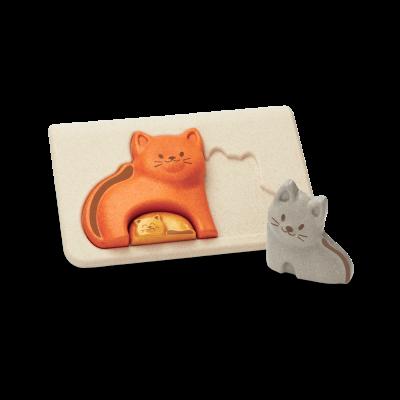PlanToys - Kat puzzel