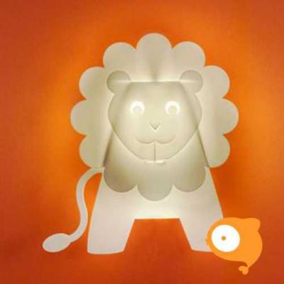 Zzzoolight - Wandlampje Leeuw LED