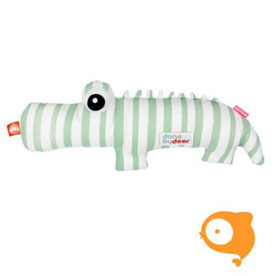 Done by Deer - Knuffel soft toy 2D croco green