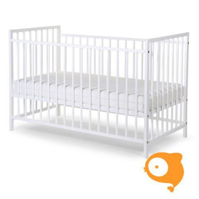 Childhome - Babybed basic beuk wit (60x120cm)