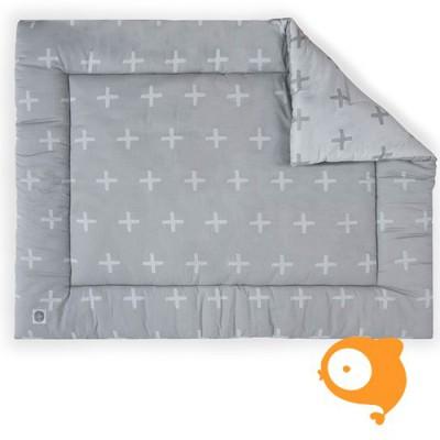 Jollein - Boxkleed 80 x 100 cm plus grey
