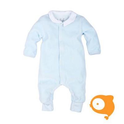 Claesen's - Newborn kruippakje lange mouwen baby blauw