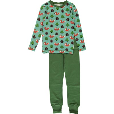 Maxomorra  - Pyjama Set LS Busy squirrel