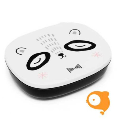 Petit Monkey - Lunchbox Mr Panda black