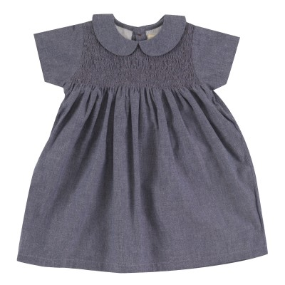 pigeon - Smock Peter Pan collar dress