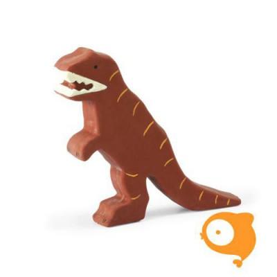 Tikiri - Bad- en bijtspeeltje - Dino bruin