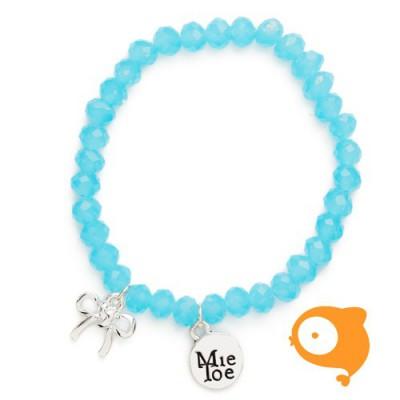 Mie Toe - Dochter armbandje bow blue