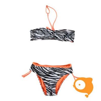 Claesen's - Omkeerbare bikini zebra print