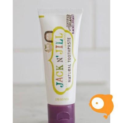 Jack 'N Jill - Natuurlijke tandpasta zwarte bes