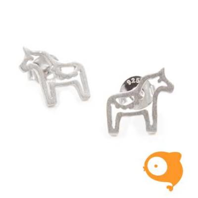 By Nebuline - Oorbellen paard in sterling zilver