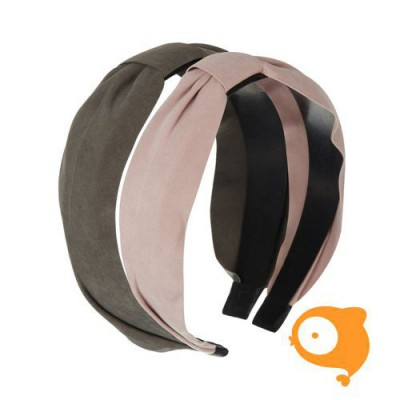 Mimi & Lula - Lily crossover alice band oud roze