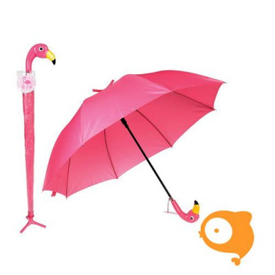 Rexinter - Paraplu groot flamingo