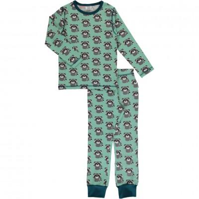 Maxomorra  - Pyjama Set LS raccoon
