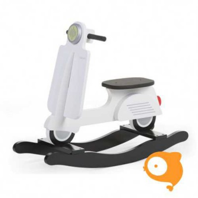 Childhome - Schommel scooter wit