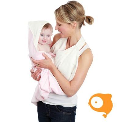 Cuddledry - Cuddledry original towel soft pink