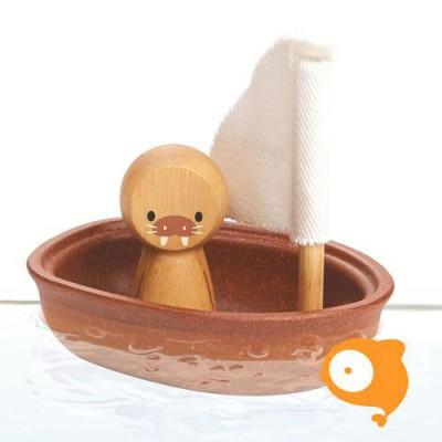 Plantoys - Zeilboot Walrus