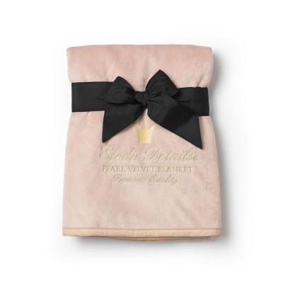 Elodie Details - Pearl velvet deken powder pink