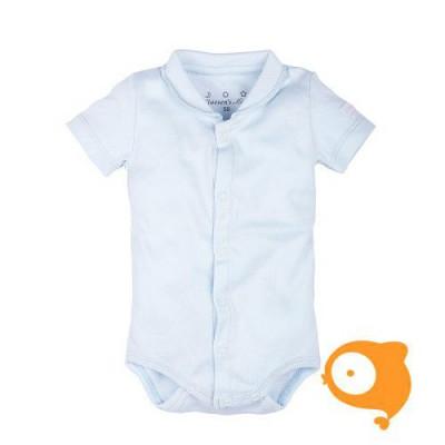 Claesen's - Newborn romper korte mouwen baby blauw