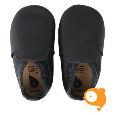 Bobux - Soft sole black loafer