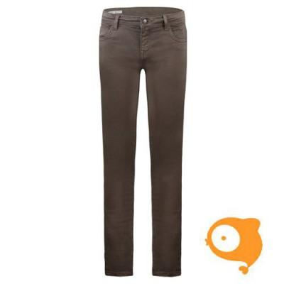 BOOF - Jeans solar green slim fit stretch denim
