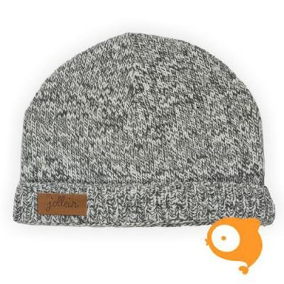 Jollein - Muts stonewashed knit grey