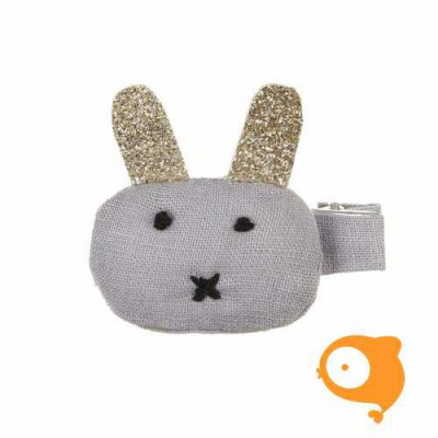 Mimi & Lula - Glitter bunny salon clip