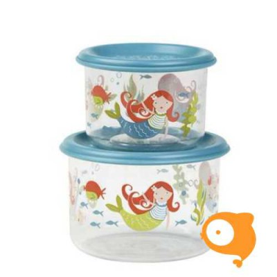 Sugarbooger - Good lunch snack containers (set van 2) - Isla the Mermaid