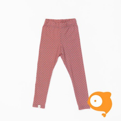 Albababy - Haniella legging deep sea coral flower