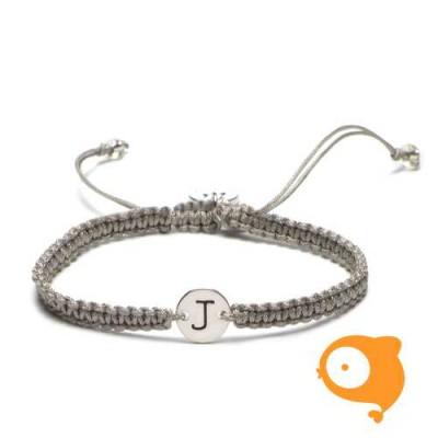 Proud Mama - Armband met initiaal J