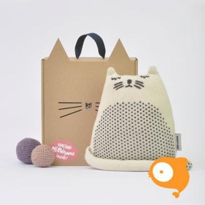 Mana 'O Nani - Chuck white cat knuffel