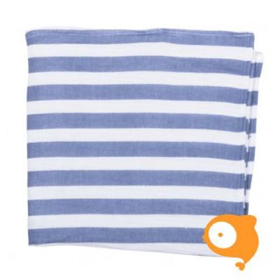 Baby Bites - Tetradoek blue stripes