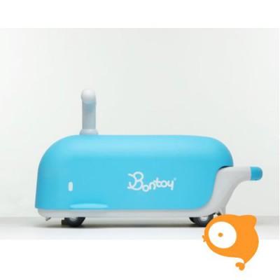 Bontoy - Loopwagen blue whale moby