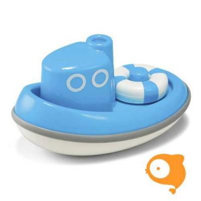 Kid O - Boot blauw drijvend