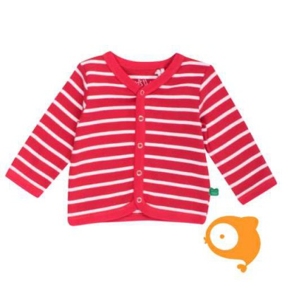 Fred's World - Stripe cardigan red