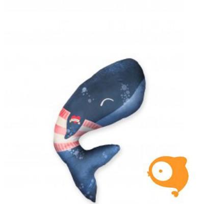 Baby Bites -  Mini kussen - Whale