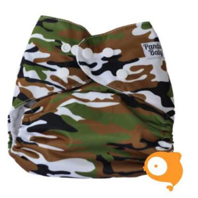 Pandababy - Uitwasbare Zwemluier (drukkers) Camouflage