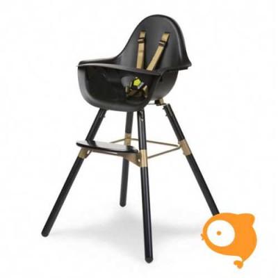 Childhome - Evolu 2 stoel zwart/goud 2 in 1