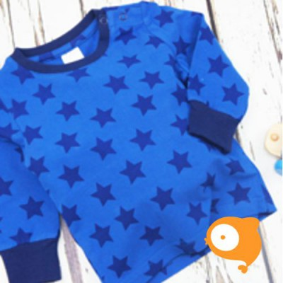 Blade&Rose - Longsleeve allover blue star