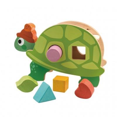 Tender leaf toys - Vormendoos schildpad