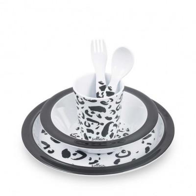 Jollein - Dinerset Leopard