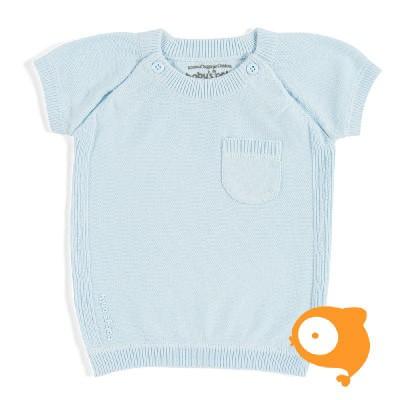 Baby's Only - Truitje (korte mouw) baby blauw