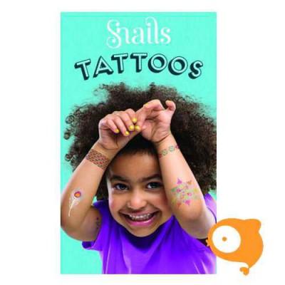 Snails - Tattoo - Neon 22 stuks
