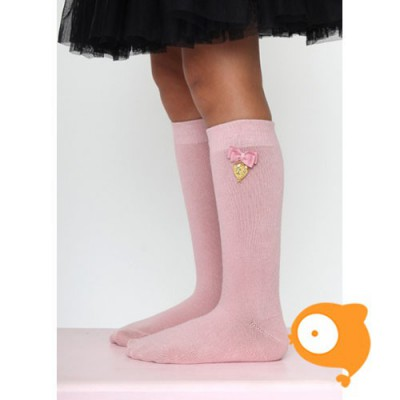 Angels Face - Charming socks vintage pink