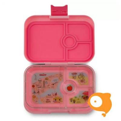 Yumbox - Panino Gramercy Pink met 4 compartimenten NYC tray
