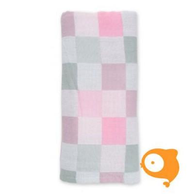 Lulujo - Luxe baby deken roze