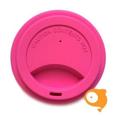 Jack N' Jill - Silicone deksel roze